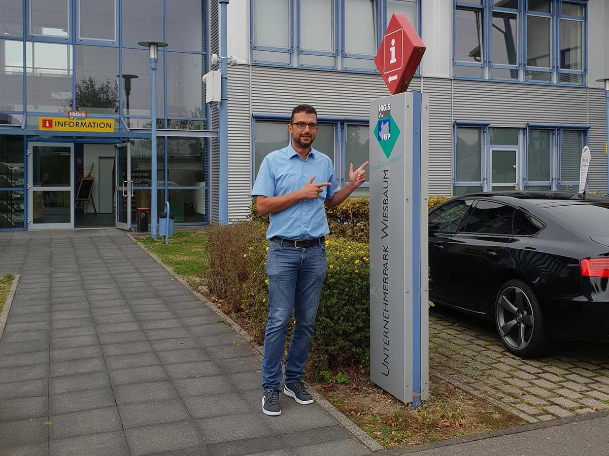 Stefan Mertes, Geschäftsführer HIGIS GmbH